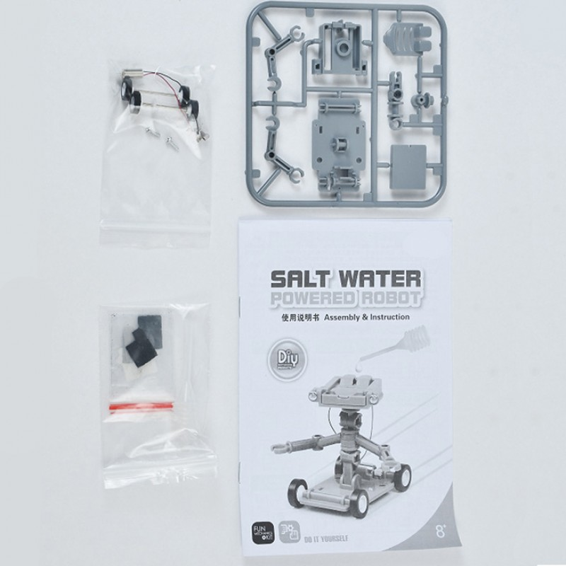 Salt Water Powered Robot